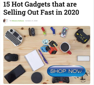 15 gadgets that will sell out in 2020